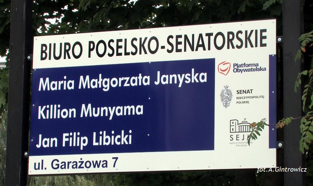 Biuro poselsko-senatorskie PO w Obornikach