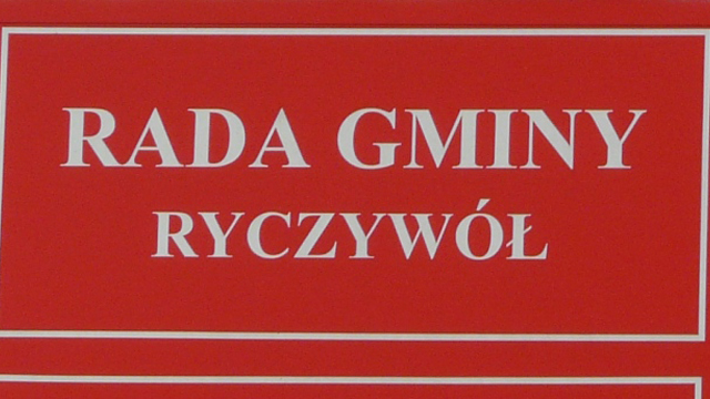 rada gminy ryczywol