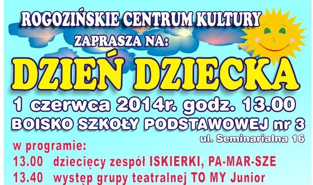 Zapraszamy na Dzień Dziecka w Rogoźnie