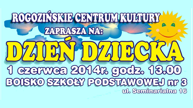 Świętowanie Dnia Dziecka w Rogoźnie!