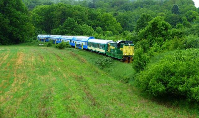 Pociąg Drezyniarz (fot. NKD)