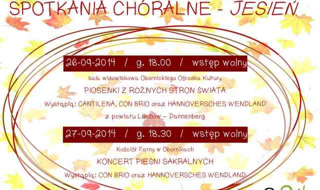 Spotkania chóralne w Obornikach