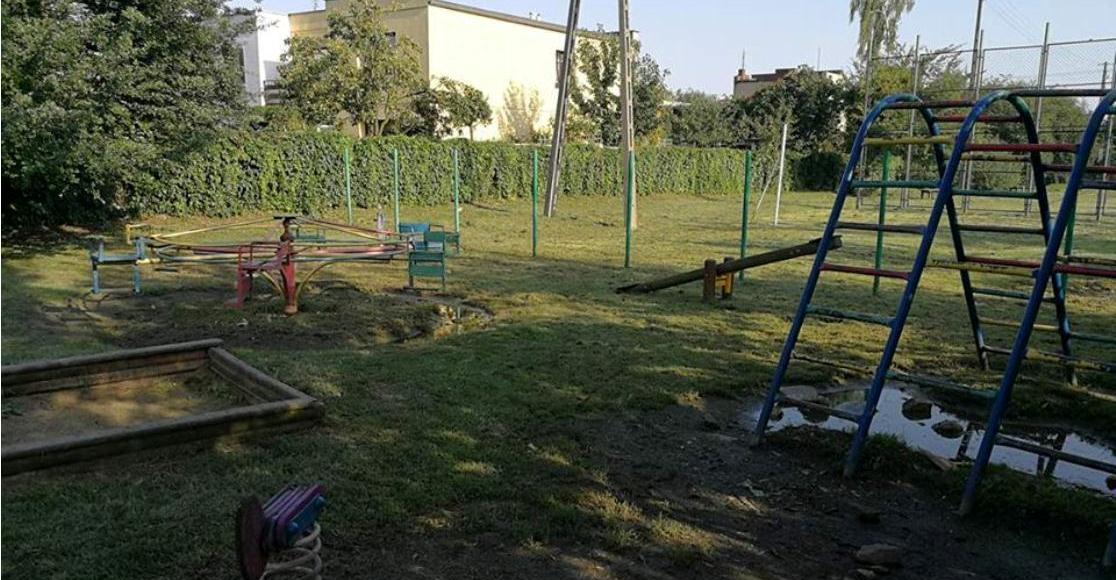 Przebuduja plac zabaw na ul. Rozanej w Rogoznie