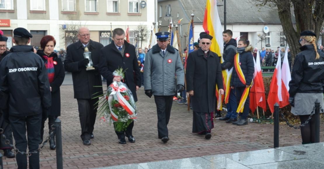 Powiatowe swieto niepodleglosci w Rogoznie
