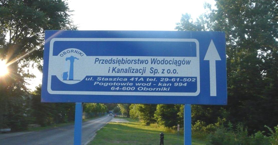 We wtorek zabraknie wody w kranach polowy miejscowosci gminy Oborniki