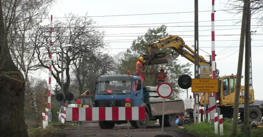 Zamkniete przejazdy kolejowe w Chludowie i Goleczewie