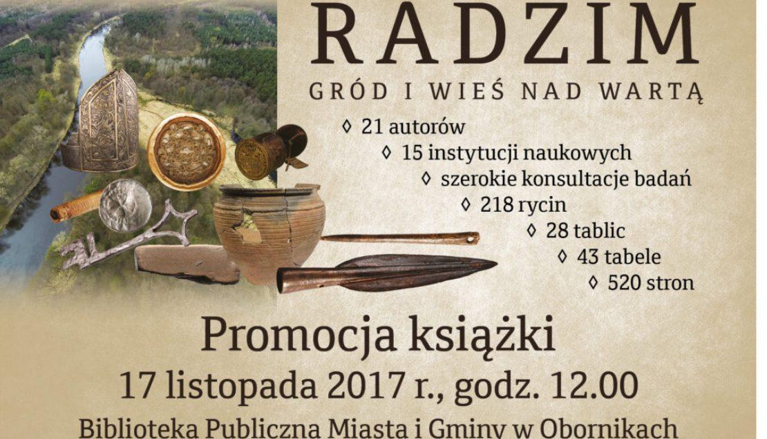 Warto kupic ksiazke Radzim Grod i Wies nad Warta