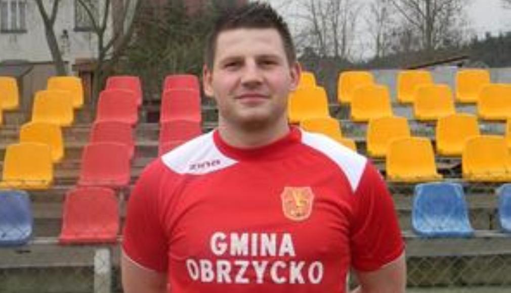 Dawid Golon oficjalnie w Orkanie - fot. Swit Piotrowo