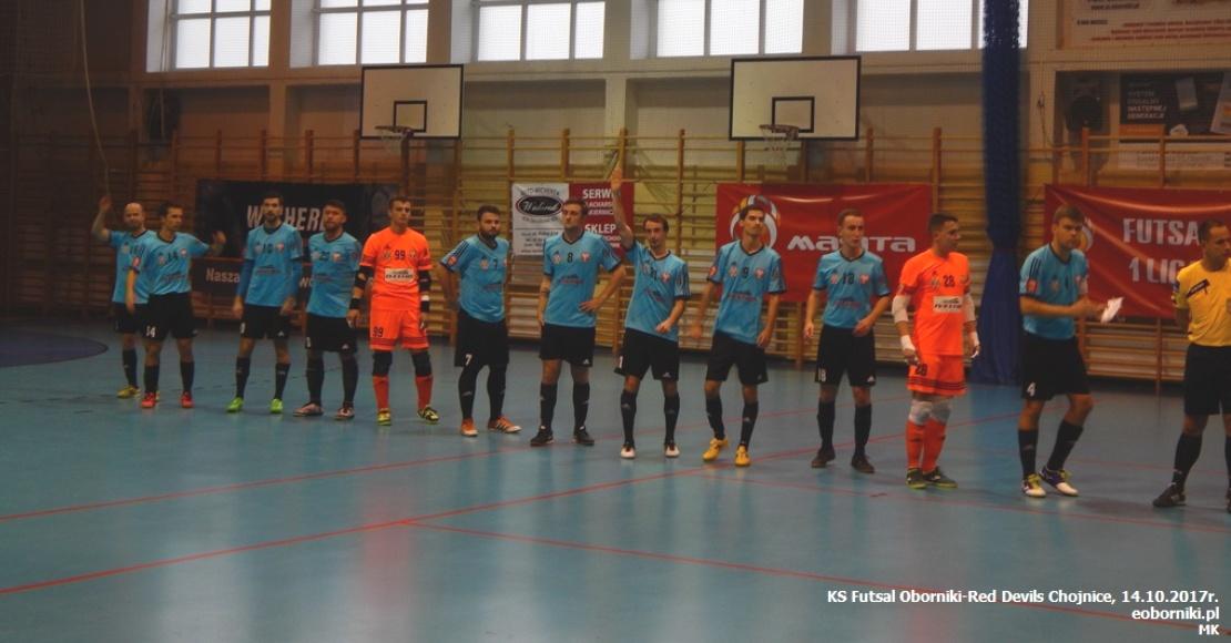Red Devils lepsze od KS Futsal Oborniki