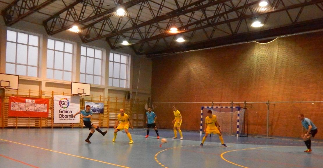 KS Futsal Oborniki ulegl beniaminkowi z Kartuz