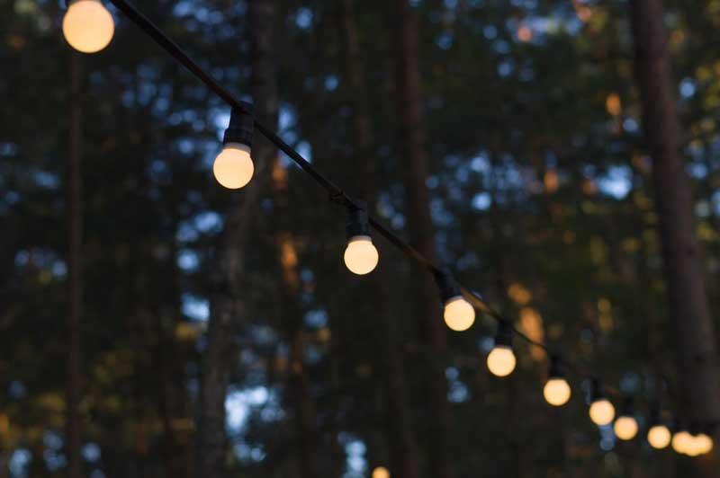 Zupełnie nowe Girlandy ogrodowe – nowoczesny sposób ozdabiania i oświetlania ogrodów IY49