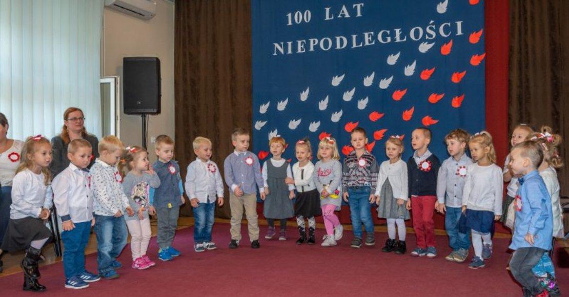 Program patriotyczny w wykonaniu przedszkolaków