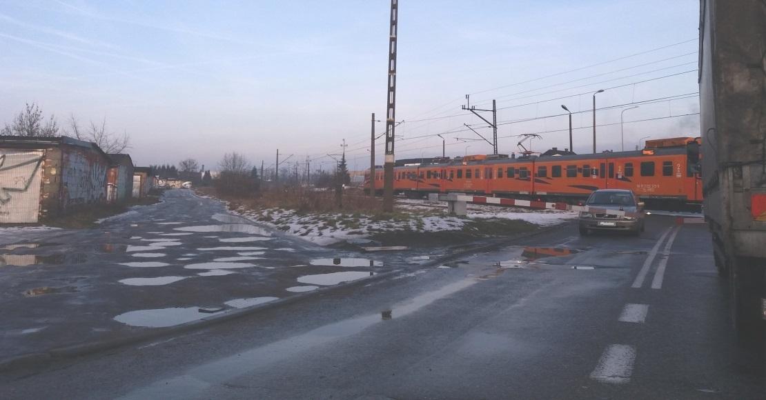 przejazd kolejowy oborniki lukowska