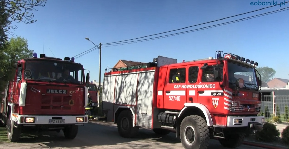 O pożarze w Wychowańcu - st. kpt. Dariusz Szrama (film)
