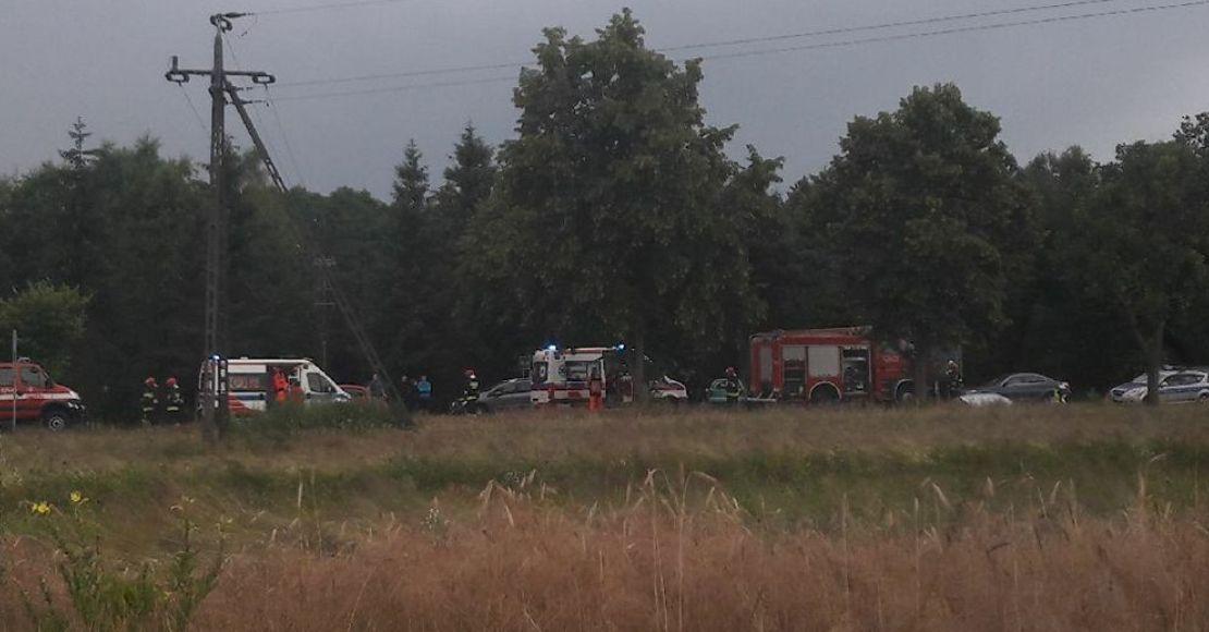 Wypadek w Obornikach - 7 osób rannych, 1 ciężko!