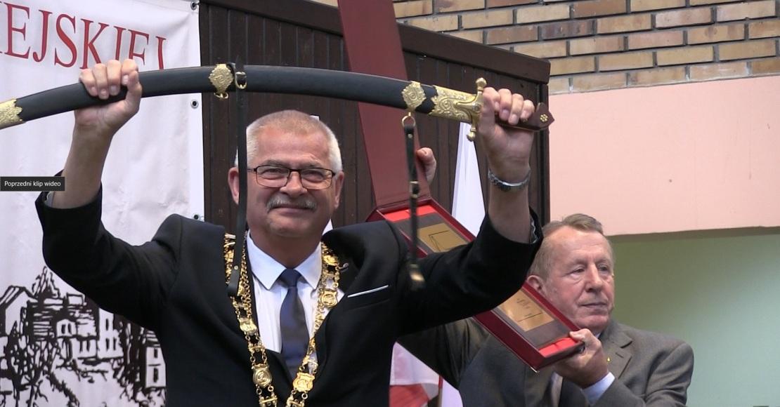 Leszek Wicherek kawalerem Szabli Kilińskiego (film)
