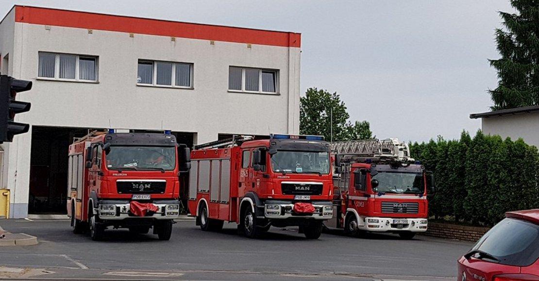 Kolizja 5 aut na wylocie z Obornik!