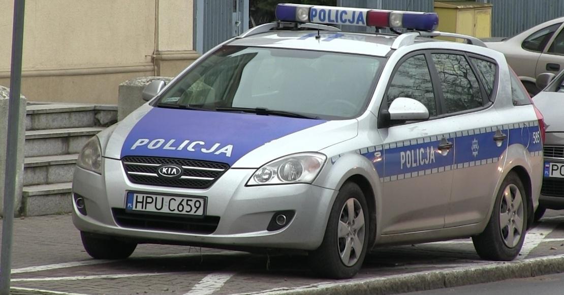 Niedzielna akcja policji - 7 mandatów karnych