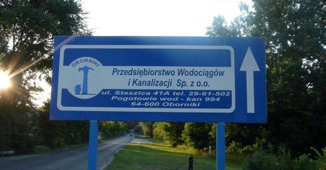 W gminie Oborniki może wzrosnąć opłata za wodę