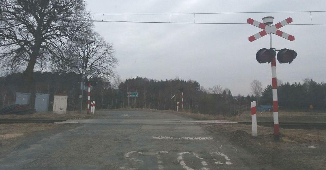 przejazd kolejowy jaracz parkowo oborniki ul polna