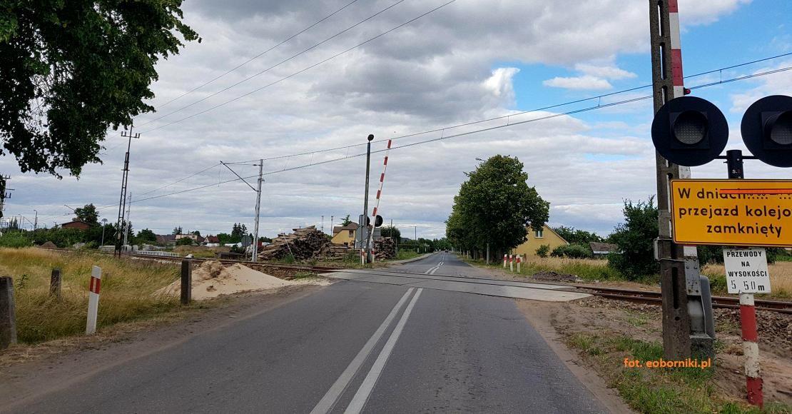Przejazd kolejowy w Garbatce będzie zamknięty przez 3 tygodnie