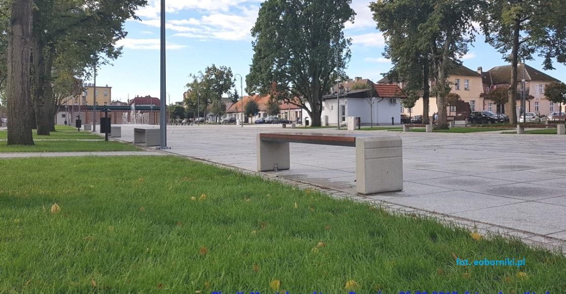 Czas na oficjalne otwarcie Placu K. Marcinkowskiego w Rogoźnie (foto)