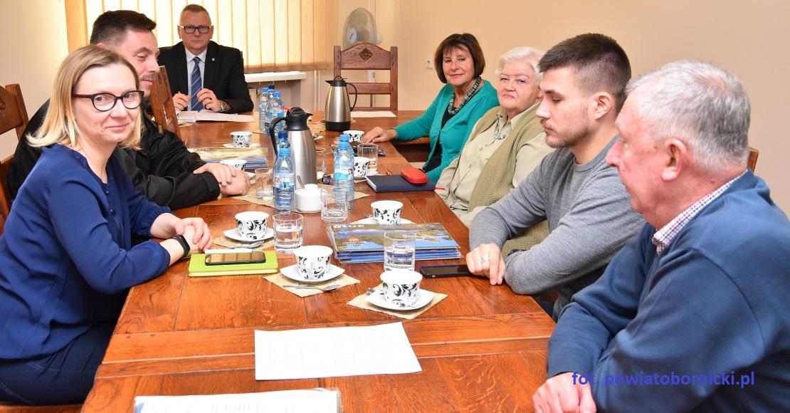 Spotkanie Powiatowego Zespołu Zarządzania Kryzysowego