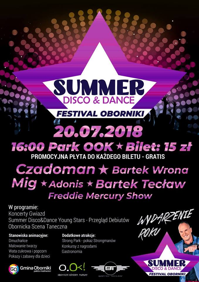 bartek teclaw summer disci dance festiwal oborniki