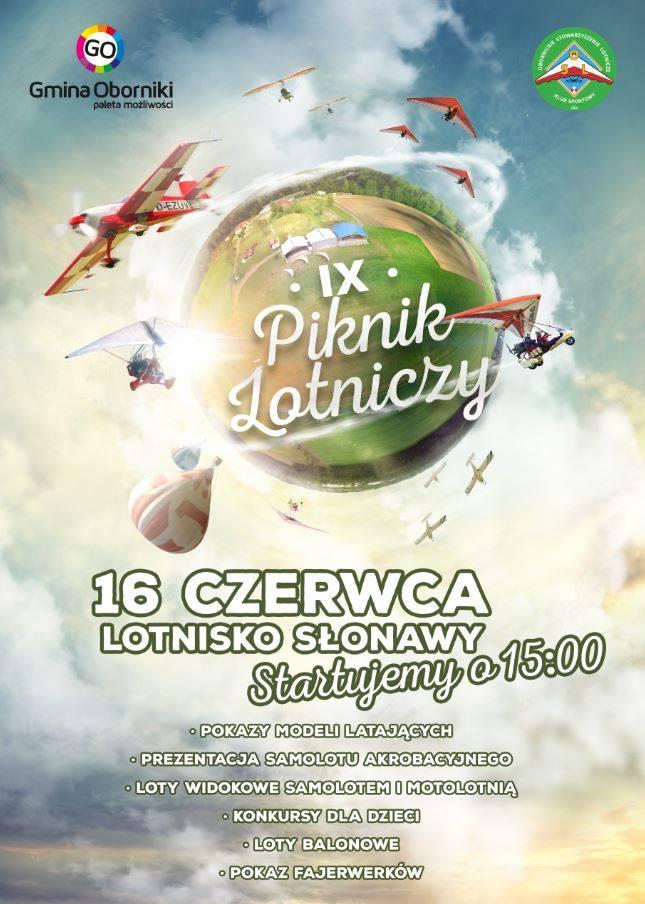 piknik lotniczy Slonawy