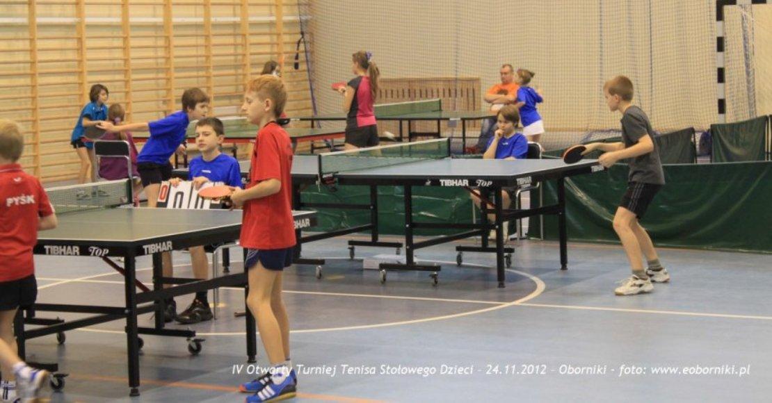 Już w weekend turniej tenista stołowego w Objezierzu