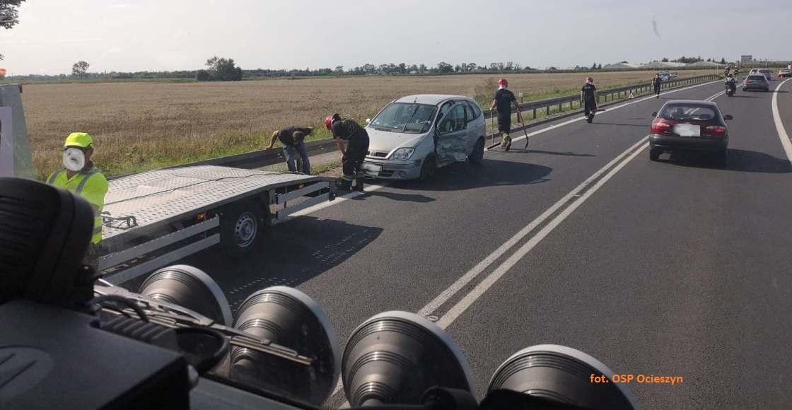2 osoby ranne w wypadku pod Świerkówkami