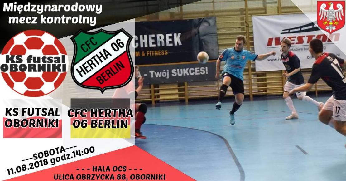 11 sierpnia Hertha Berlin zagra w Obornikach