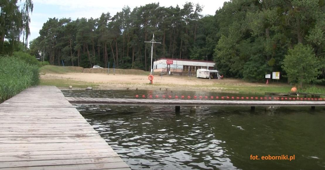 Trwają prace na ul. Plażowej w Rogoźnie