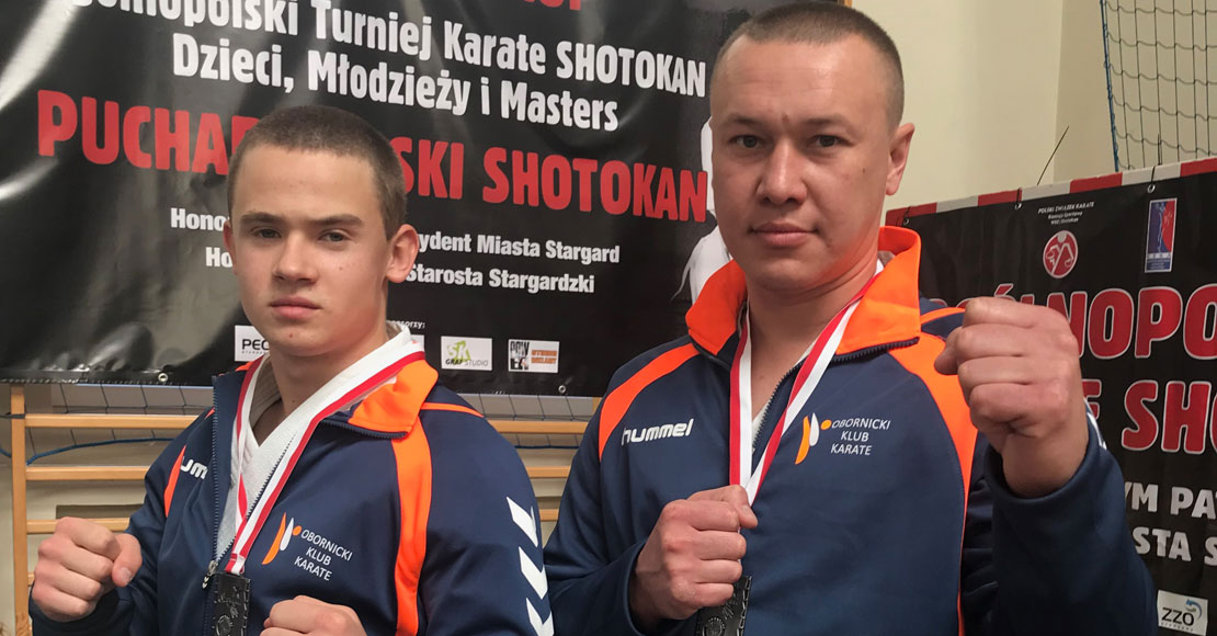 Srebro z Pucharu Polski dla Obornickiego Klubu Karate