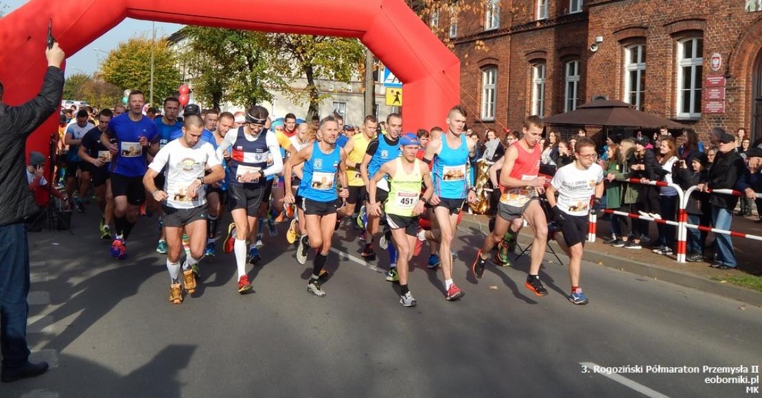 Rogoziński Półmaraton - będą zamykać drogi