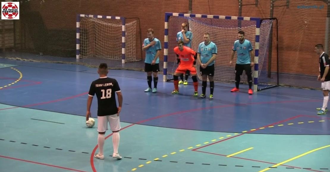 KS Futsal zagra z Lęborkiem (film)
