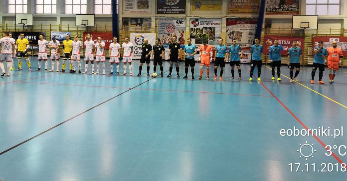 Futsal Oborniki - Futsal Leszno (wywiady)