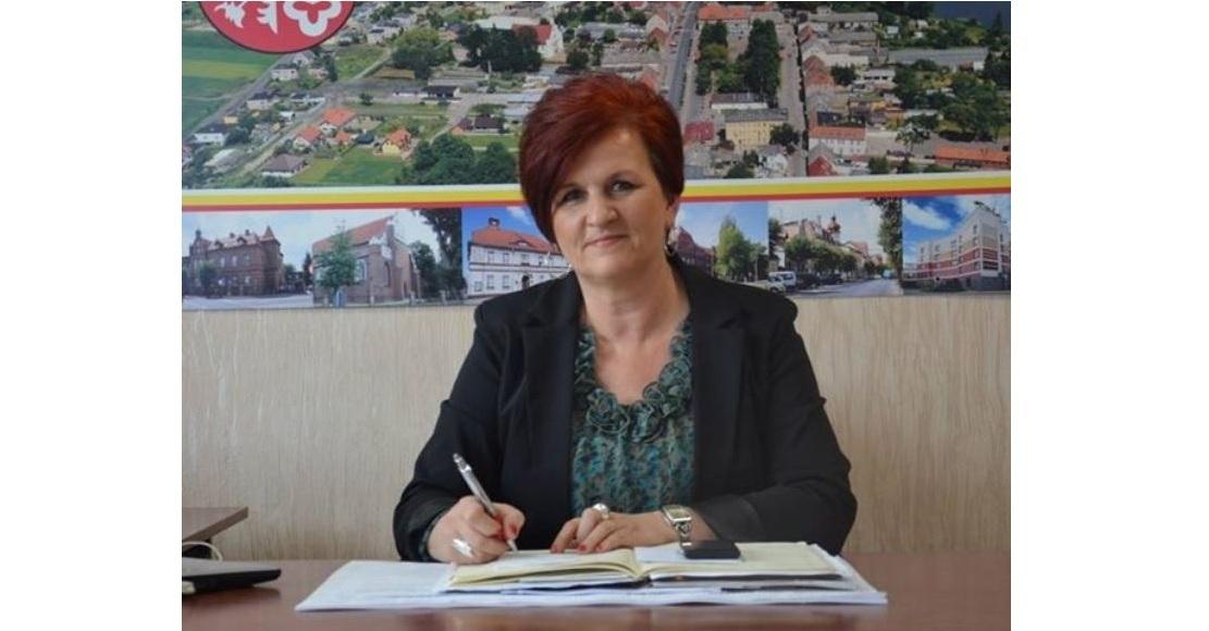 Renata Tomaszewska z numerem 1 do Rady Powiatu Obornickiego