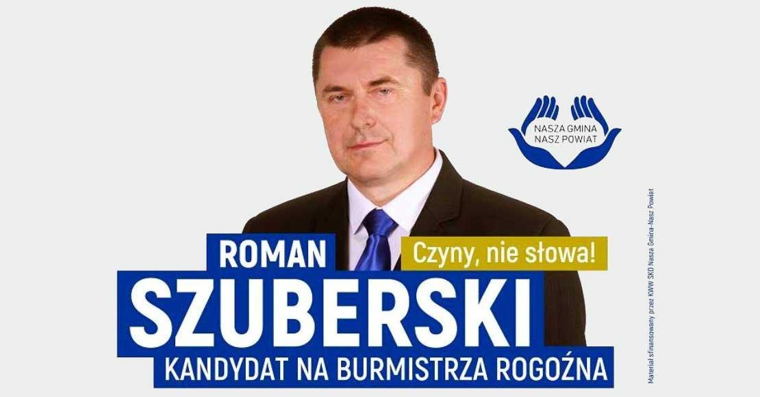Roman Szuberski wielkim faworytem wyborów na Burmistrza Rogoźna