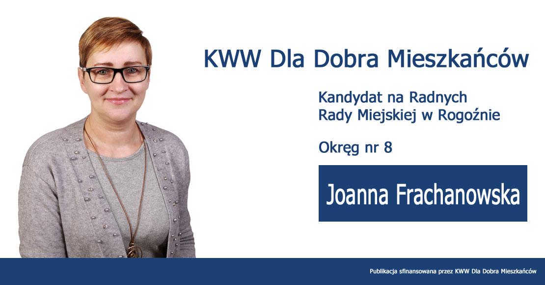 Joanna Frachanowska - KWW Dla Dobra Mieszkańców