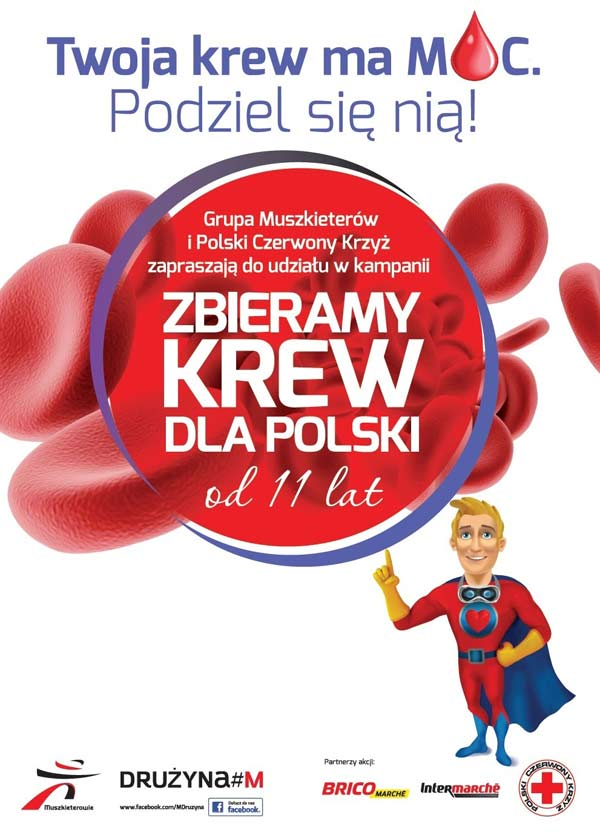 Zbieramy krew dla Polski 2018