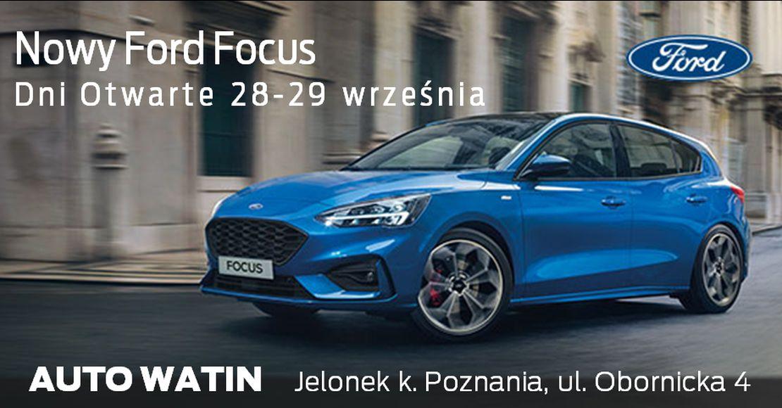 Dni Otwarte z nowym Fordem Focusem (foto)