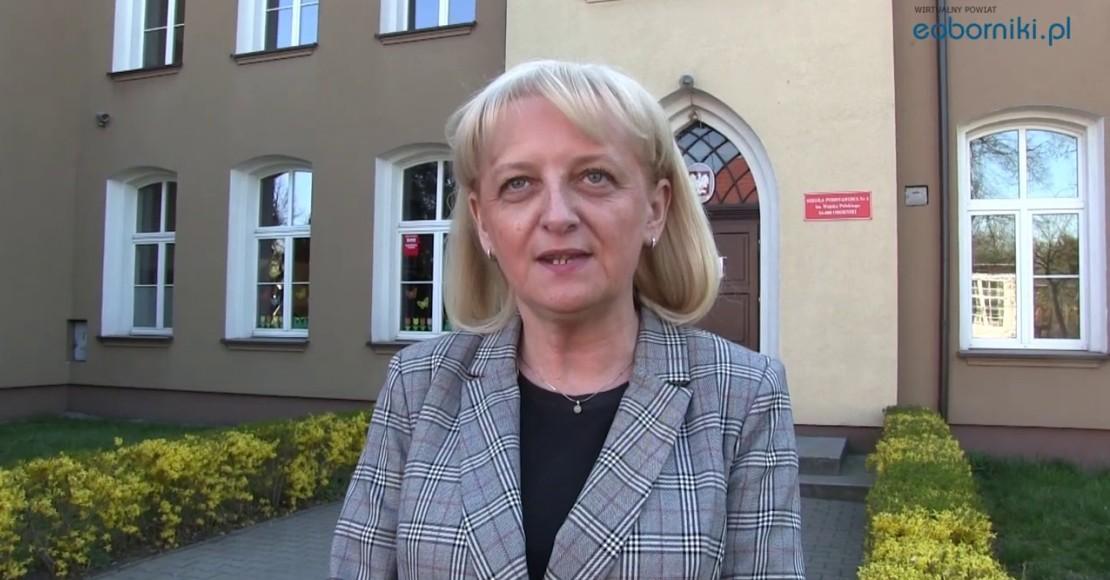 Dyrektor A. Święcichowska: Wierzę, że obie nasze szkoły wygrają nagrody