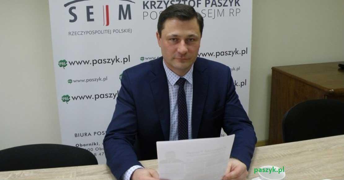 Krzysztof Paszyk liderem listy Koalicji Polskiej
