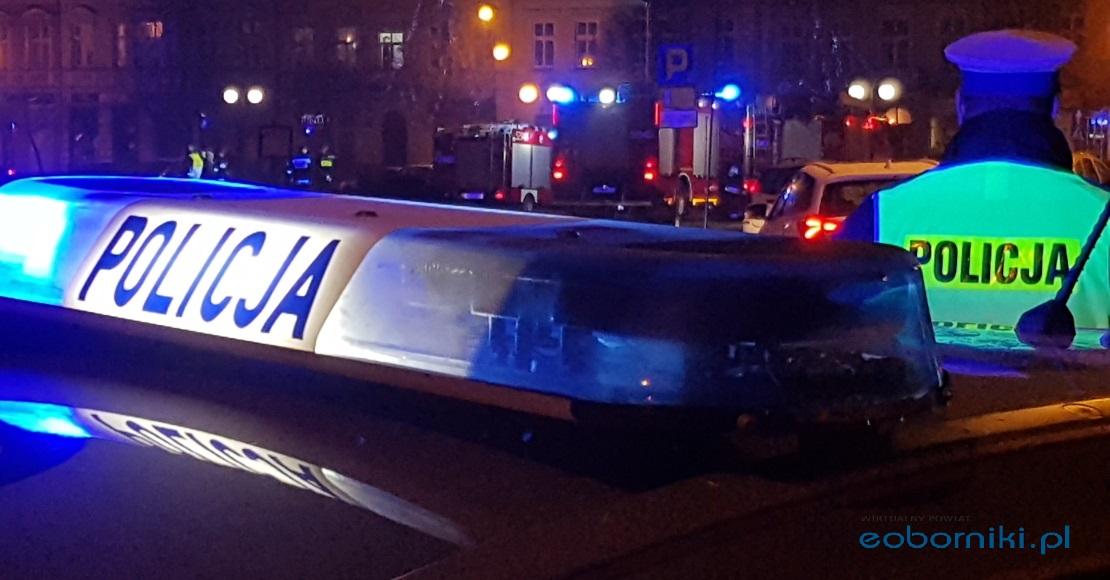 Policja kontroluje także pieszych