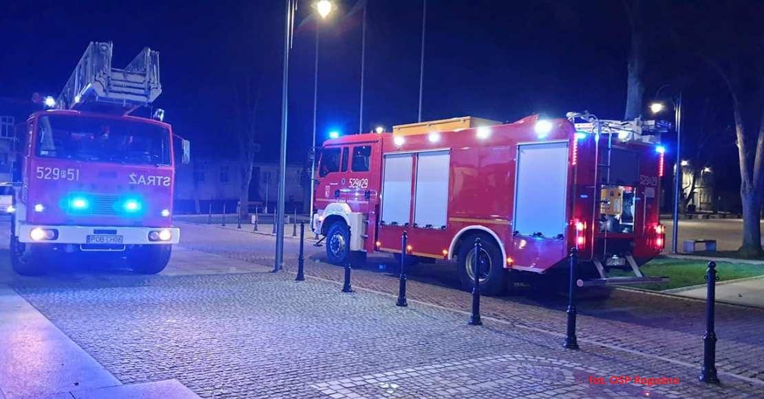 Liczne interwencje strażaków