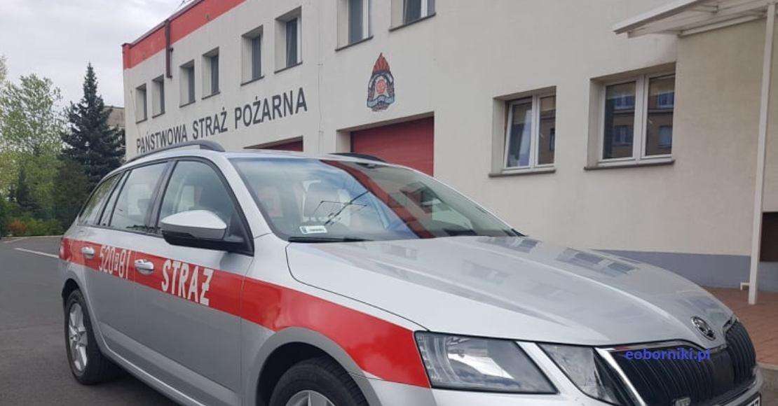Wypadek w Bogdanowie. Są utrudnienia