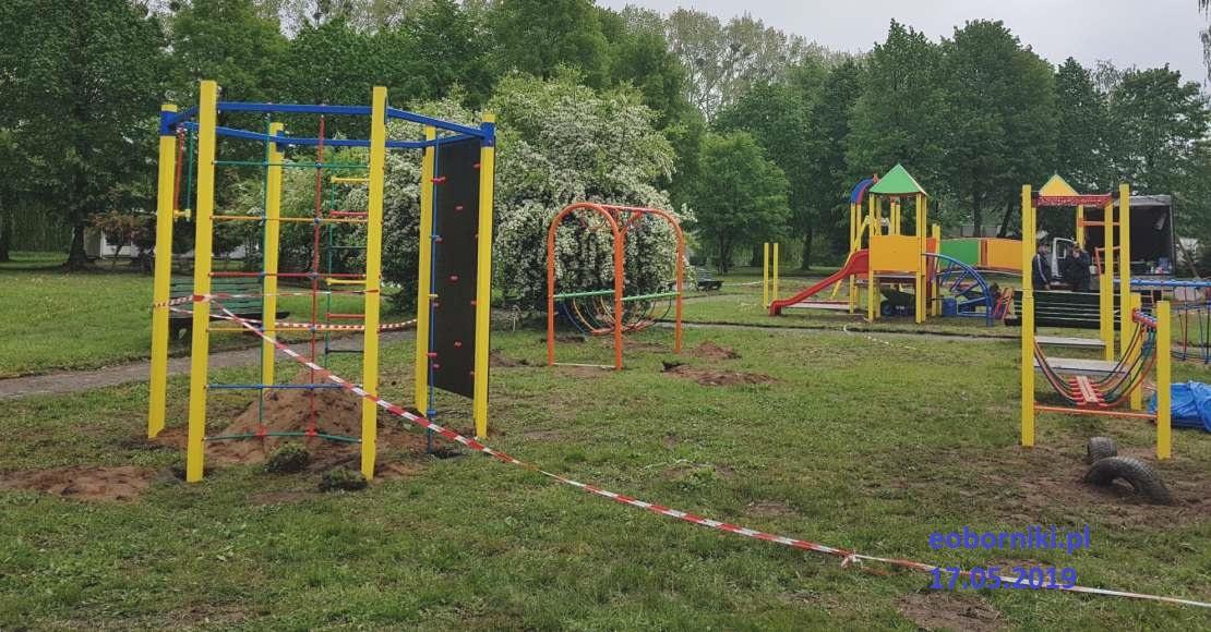 Powstaje plac zabaw na Ośrodku Za Jeziorem (foto)
