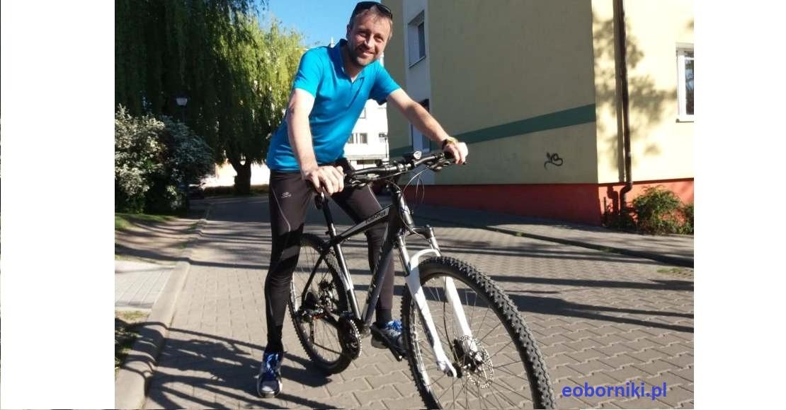 Piotr Woszczyk: Rowerem jeżdżę od lat