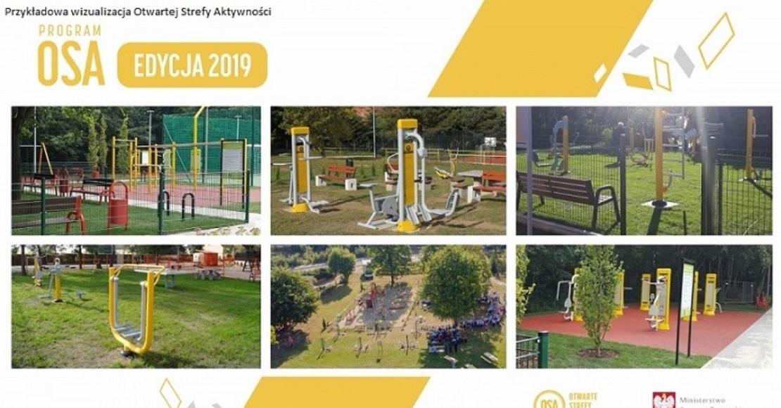Gmina Ryczywół ma dofinansowanie na 5 stref aktywności